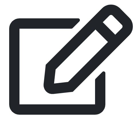 note and pen icon
